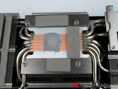 heatpipe MSI RTX 3060TI GAMING X TRIO