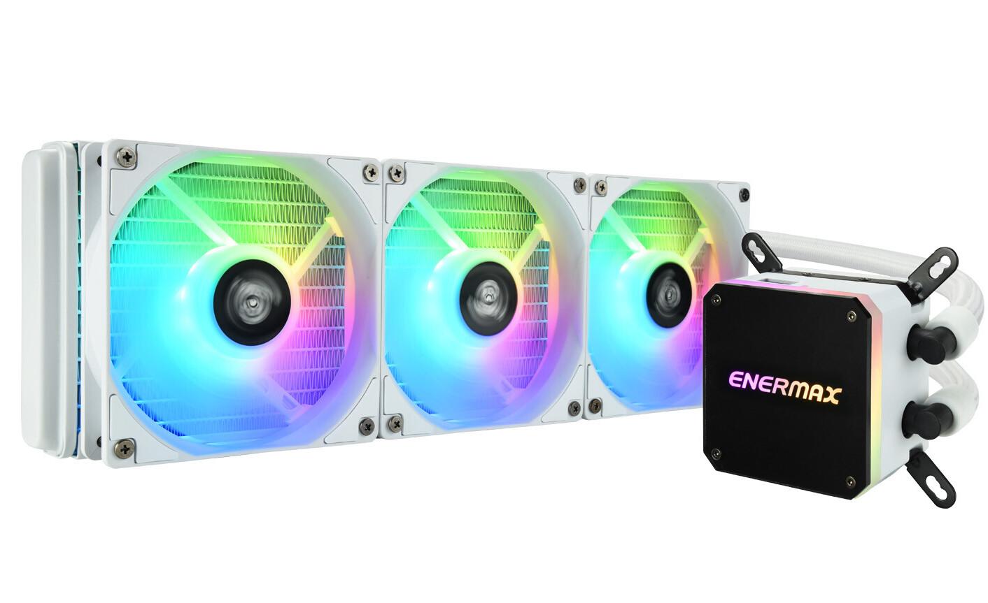 ENERMAX passe son LIQMAX III 360 ARGB au blanc