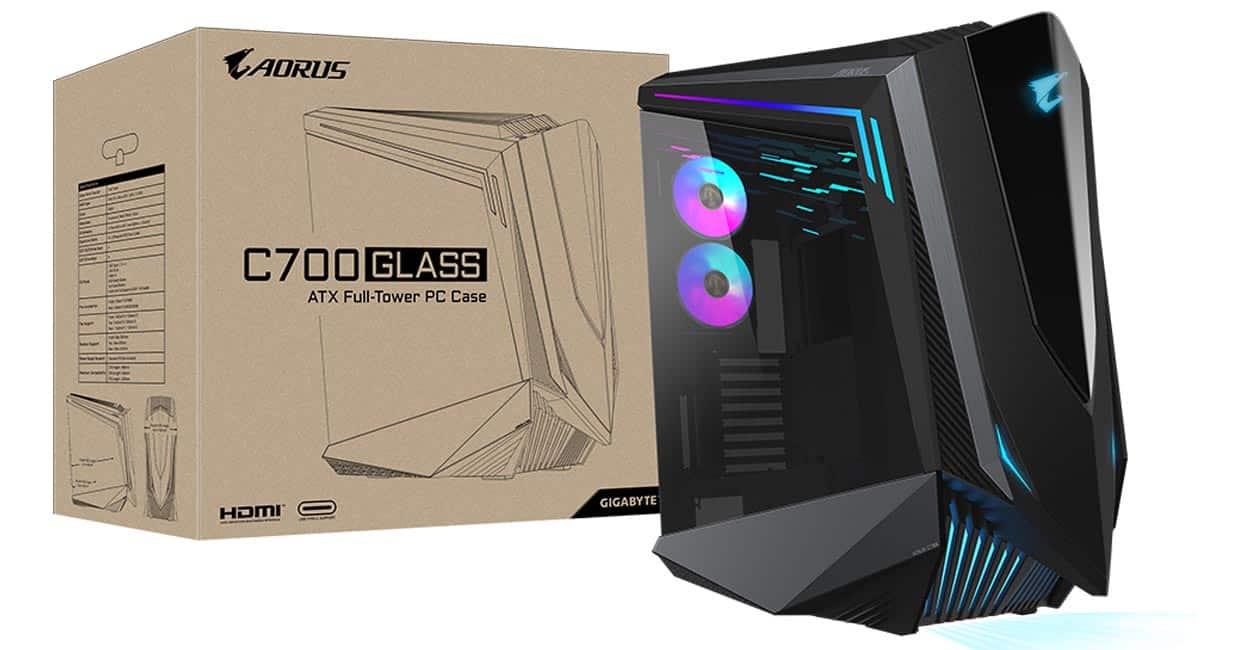 GIGABYTE présente son gros boitier AORUS C700 GLASS