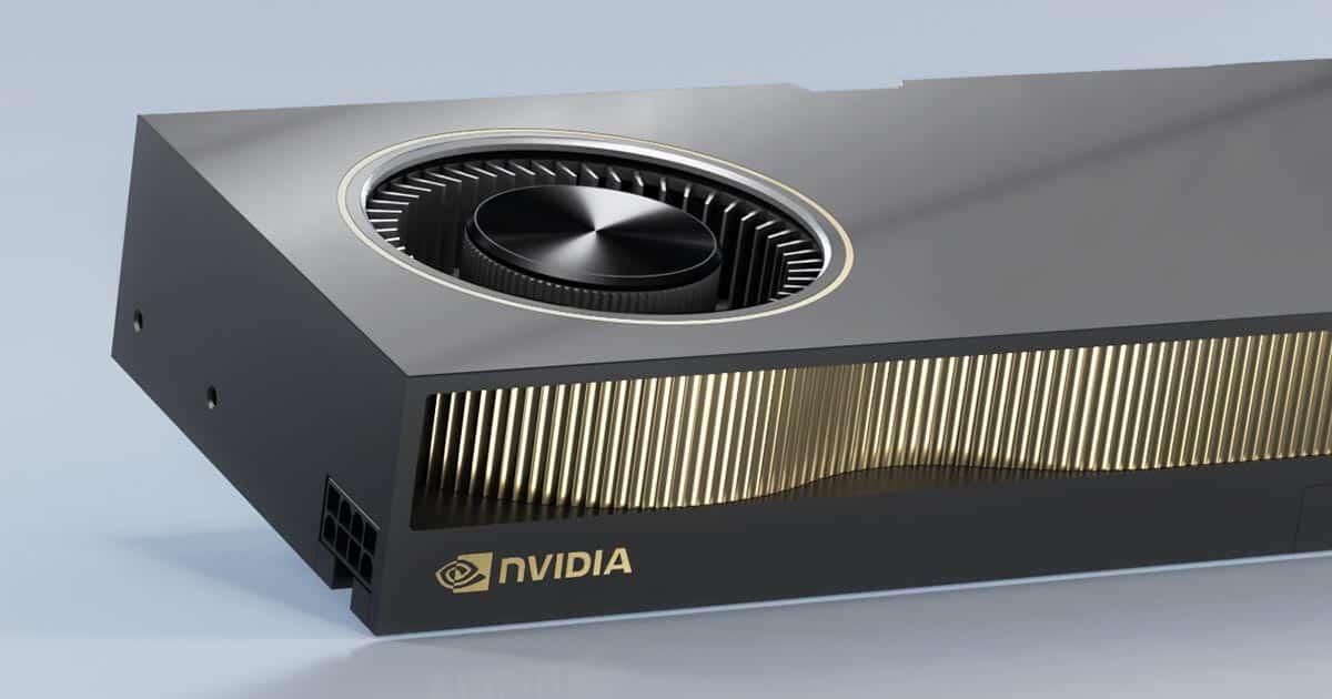 Nvidia lance officiellement son GPU professionnel RTX A6000 pour 4650 $