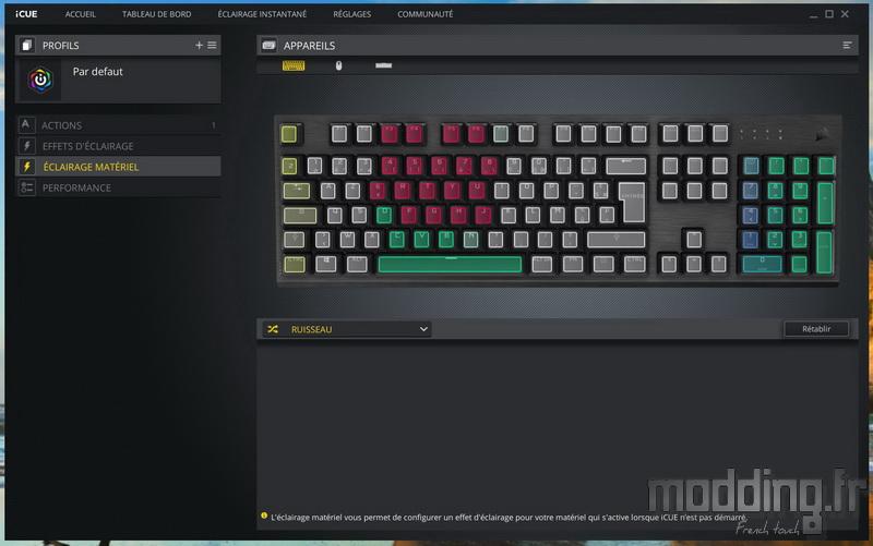 K60 RGB Pro LP Log 19