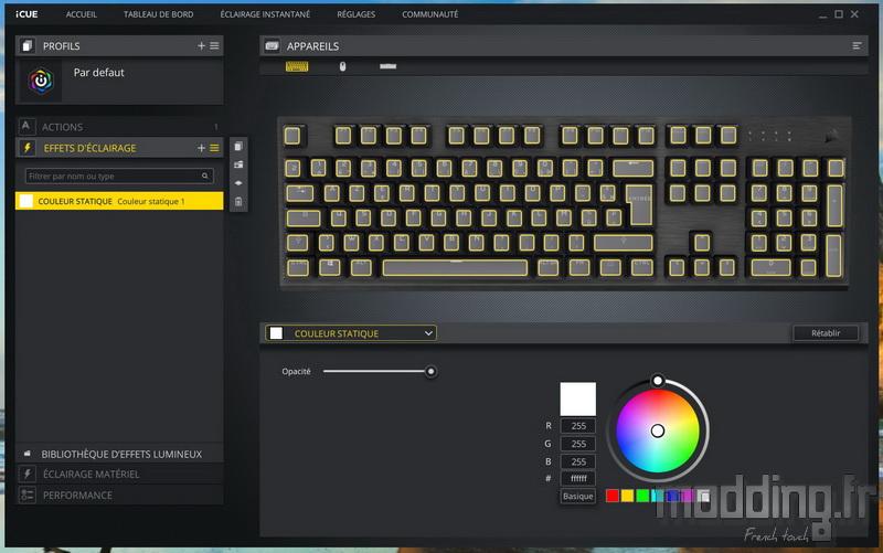 K60 RGB Pro LP Log 26