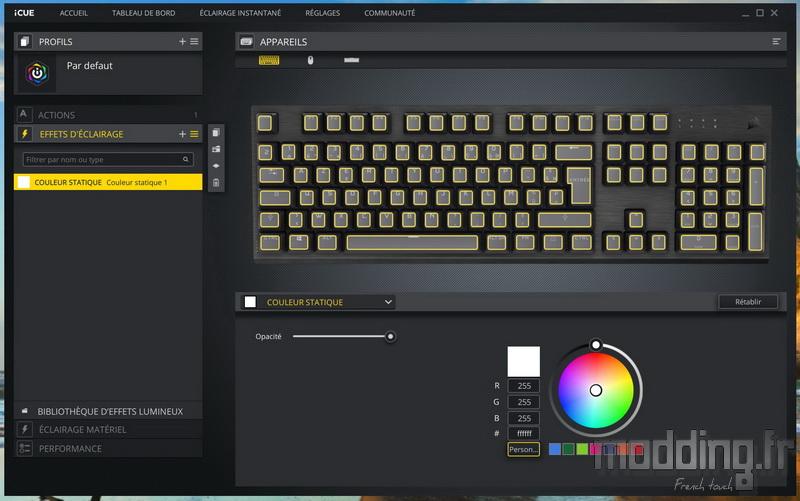 K60 RGB Pro LP Log 27