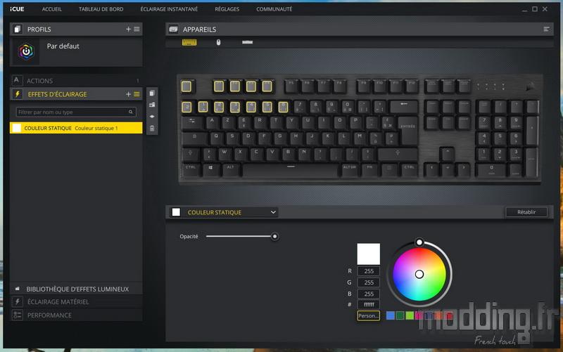 K60 RGB Pro LP Log 28