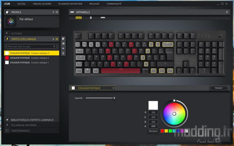 K60 RGB Pro LP Log 29
