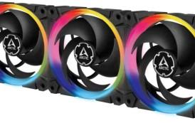 Arctic lance ses BioniX P120 aRGB connectables en série