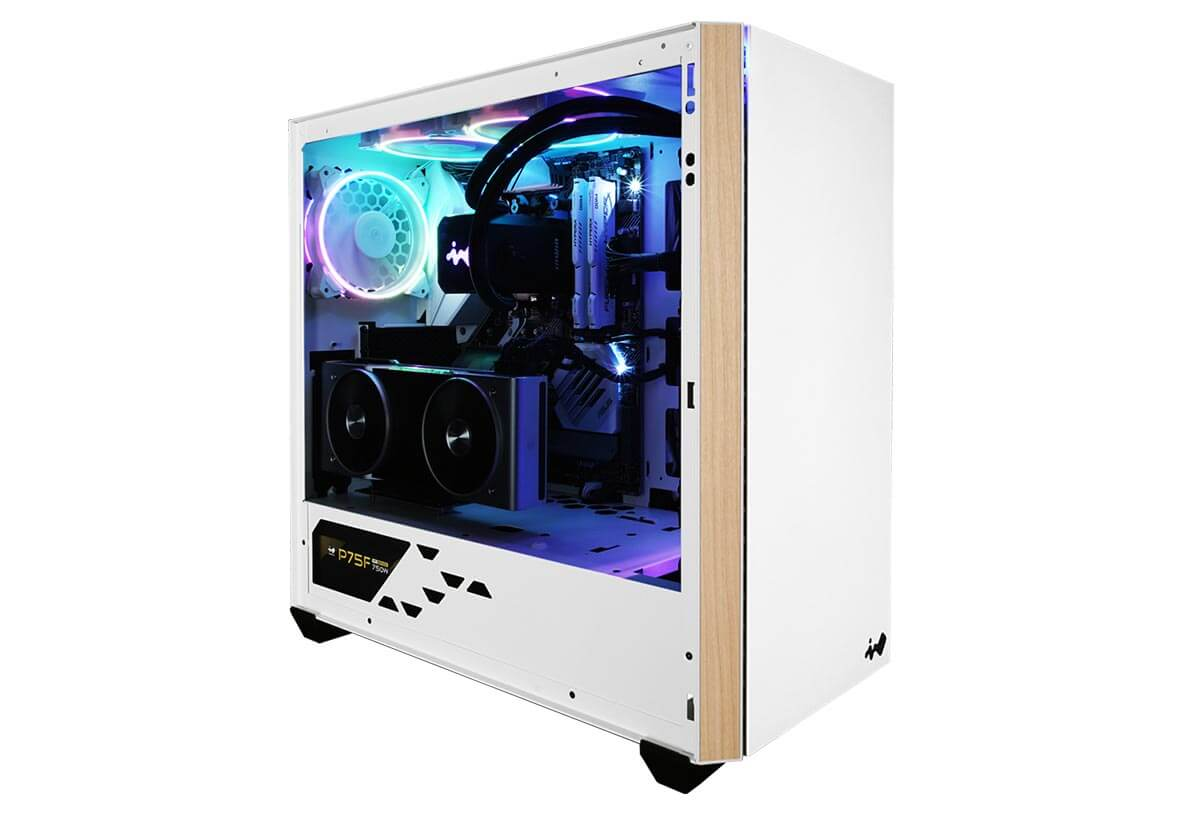 InWin lance son boitier 216 Pure White Edition