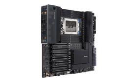 Une énorme Carte mère Asus Threadripper Pro avec 2 To de RAM et beaucoup de voies PCIe 4.0