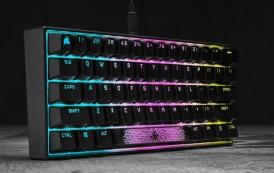 Les claviers CORSAIR deviennent compacts avec le K65 RGB MINI