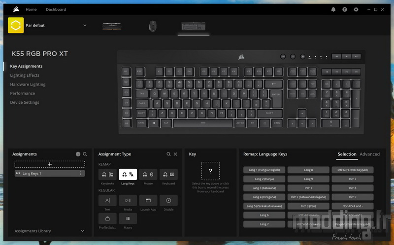 K55 RGB Pro XT Log 13