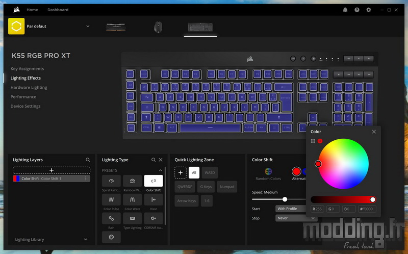 K55 RGB Pro XT Log 38