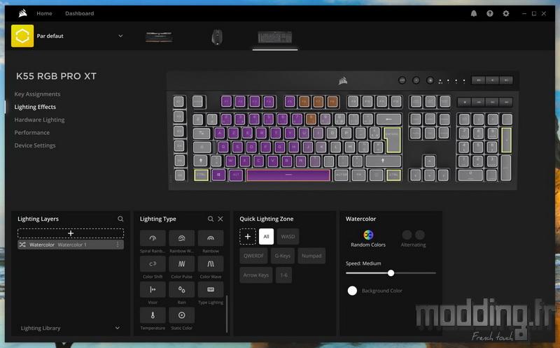 K55 RGB Pro XT Log 46