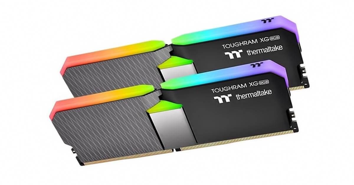 Thermaltake lance sa mémoire ToughRAM XG RGB DDR4