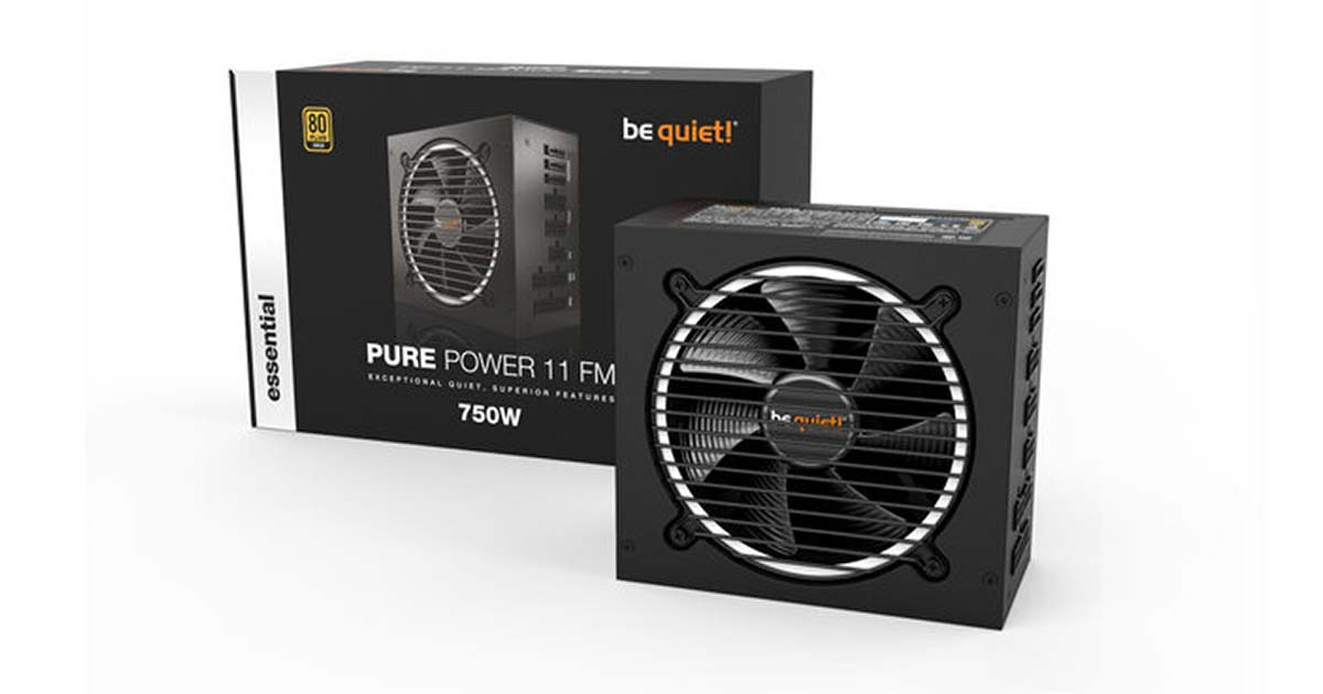 be quiet! lance ses alimentations Pure Power 11 FM, SFX Power 3 et TFX Power 3