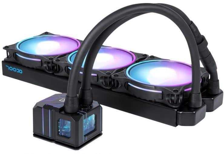 Alphacool Eisbaer Pro Aurora : un AIO avec radiateur en cuivre
