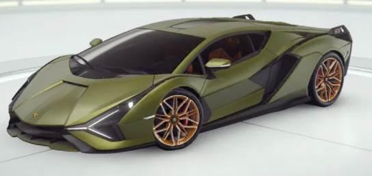 Lamborghini Sian FKP 37 originale