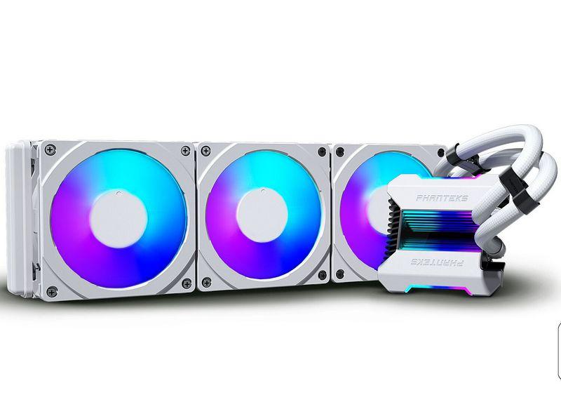 Phantek annonce son AIO Glacier One 360MPH avec pompe en verre trempé