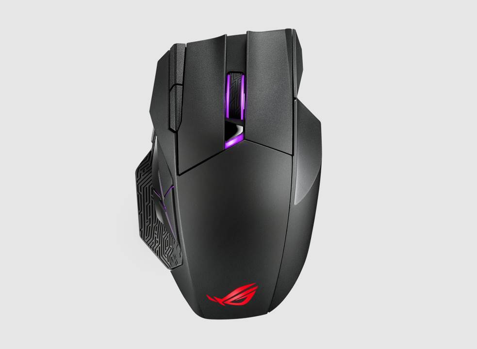 ASUS présente la souris gaming sans fil ROG Spatha X