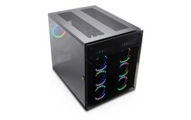 Le boîtier Nanoxia peut accueillir deux systèmes E-ATX