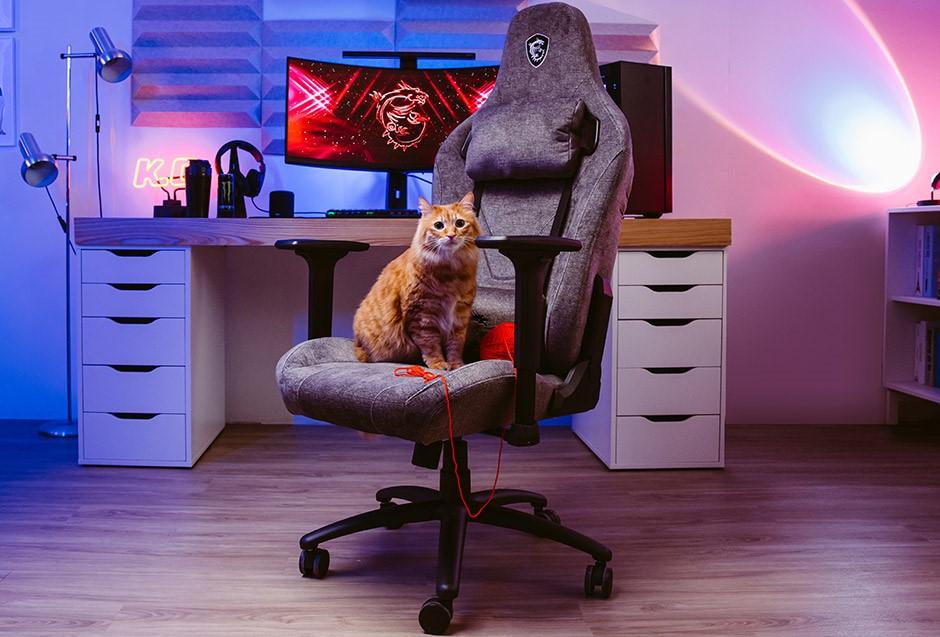 MSI lance la nouvelle chaise de jeu MAG CH130