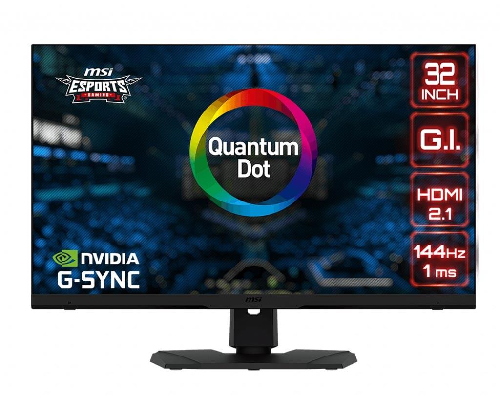 MSI lance son moniteur Optix MPG321UR-QD 4K 144 Hz au Japon