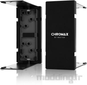 Noctua chromax line NF-A12x25 fan, NH-U12A (4)