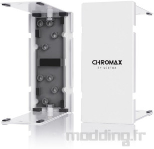 Noctua chromax line NF-A12x25 fan, NH-U12A (5)