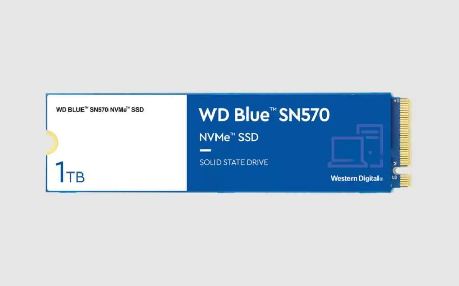 Western Digital lance ses SSD WD Blue SN570 pour les créateurs de contenu