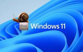 Jusqu'à 15 % de perte de performances avec les processeurs AMD sous Windows 11