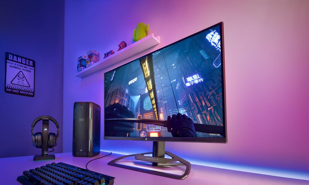 CORSAIR lance le moniteur de jeu XENEON 32QHD165